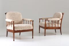 Kerstin H rlin Holmquist Pair of Swedish Lounge Chairs Skrindan by Kerstin H rlin Holmquist for OPE - 1143489
