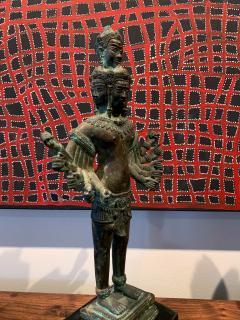 Khmer Bronze Brahma Statue Cambodia - 1191020