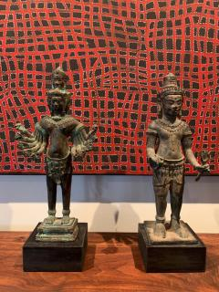 Khmer Bronze Brahma Statue Cambodia - 1191027