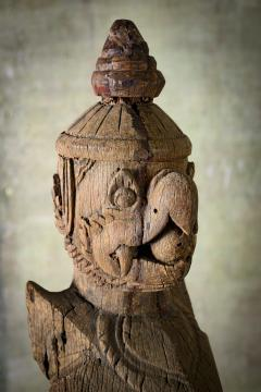 Khmer Carved Wood Garuda - 342308