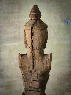 Khmer Carved Wood Garuda - 342314