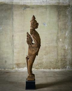 Khmer Carved Wood Garuda - 342316