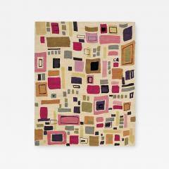 Kim Parker Modern Pattern Wool Manhattan Indian Rug - 921002