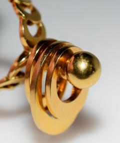 Kinetic Spinning Gold Ring - 438606