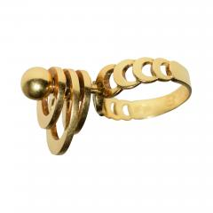 Kinetic Spinning Gold Ring - 455387