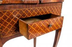 Kingwood Marquetry Vanity Table - 1125549