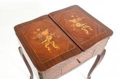 Kingwood Marquetry Vanity Table - 1125552