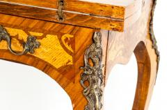 Kingwood Mounted Bronze Details Card Table - 1125452