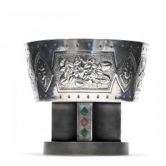 Kintaro Hattori A Japanese Sterling Silver Centerpiece Pedestal Bowl by Hattori Kintaro - 941517