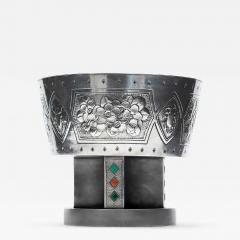 Kintaro Hattori A Japanese Sterling Silver Centerpiece Pedestal Bowl by Hattori Kintaro - 942278