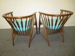 Kipp Stewart Handsome Pair of Kipp Stewart Declaration Lounge Chairs Mid Century Modern - 1843511