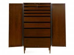 Kipp Stewart Mid Century Modern Kipp Stewart for Calvin Directional Walnut 10 Drawer Dresser - 1125085