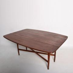 Kipp Stewart Mid Century Modern Rare Walnut Drop Leaf Dining Table by Kipp Stewart for Drexel - 1184894