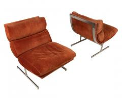 Kipp Stewart Pair of Lounge Chairs by Kipp Stewart for Directional - 976315