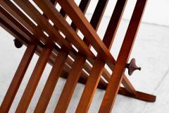 Kipp Stewart Stewart MacDougall CAMPAIGN FOLDING TABLE BY STEWART MACDOUGALL KIPP STEWART FOR DREXEL - 1463374