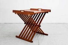 Kipp Stewart Stewart MacDougall CAMPAIGN FOLDING TABLE BY STEWART MACDOUGALL KIPP STEWART FOR DREXEL - 1463376