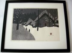Kiyoshi Saito Kiyoshi Saito Winter In Aizu 9 70 34 80 1970 - 362176