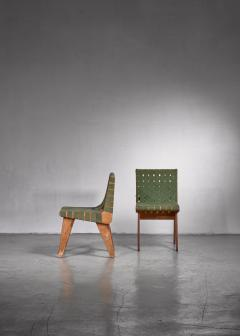 Klaus Grabe Klaus Grabe pair of webbed side chairs - 1702355