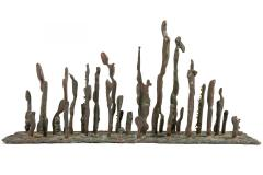 Klaus Ihlenfeld Klaus Ihlenfeld Early Bronze Platform Sculpture - 1128974