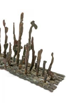 Klaus Ihlenfeld Klaus Ihlenfeld Early Bronze Platform Sculpture - 1128978