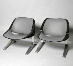Knut Hesterberg Pair of Mid Century Modern lounge chairs by Knut Hesterberg - 2005915