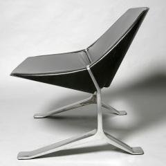 Knut Hesterberg Pair of Mid Century Modern lounge chairs by Knut Hesterberg - 2005916