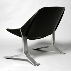 Knut Hesterberg Pair of Mid Century Modern lounge chairs by Knut Hesterberg - 2005918