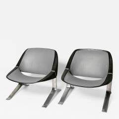Knut Hesterberg Pair of Mid Century Modern lounge chairs by Knut Hesterberg - 2009970