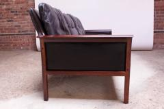 Knut S ter Leather and Rosewood Sofa Designed by Knut S ter for Vatne M bler - 1314580