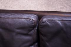 Knut S ter Leather and Rosewood Sofa Designed by Knut S ter for Vatne M bler - 1314590