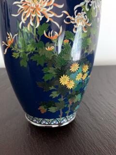 Kodenji Hayashi A Fine Japanese Cloisonne Vase by Hayashi Kodenji - 986448