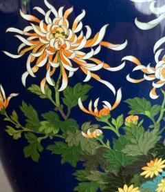 Kodenji Hayashi A Fine Japanese Cloisonne Vase by Hayashi Kodenji - 986450