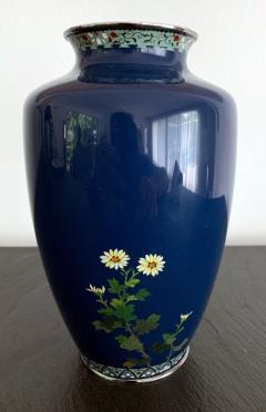 Kodenji Hayashi A Fine Japanese Cloisonne Vase by Hayashi Kodenji - 986451