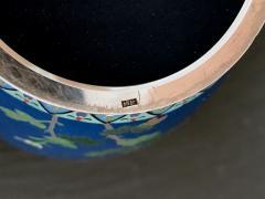 Kodenji Hayashi A Fine Japanese Cloisonne Vase by Hayashi Kodenji - 986455