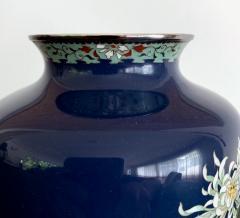 Kodenji Hayashi A Fine Japanese Cloisonne Vase by Hayashi Kodenji - 986456