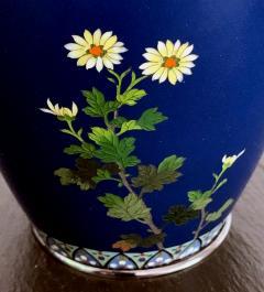 Kodenji Hayashi A Fine Japanese Cloisonne Vase by Hayashi Kodenji - 986457