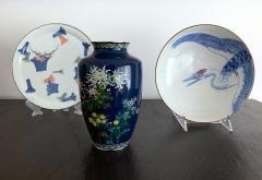 Kodenji Hayashi A Fine Japanese Cloisonne Vase by Hayashi Kodenji - 986460