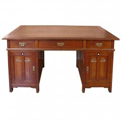 Koloman Moser Exceptional Inlaid Secessionist Desk - 484495