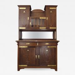 Koloman Moser Fine Secessionist Cabinet Attributed to Moser - 496215