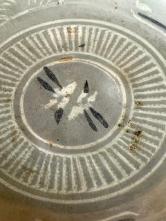 Korean Celadon Inlay Plate Goryeo Period - 1958130