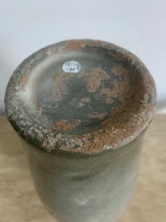 Korean Celadon Vase with Slip Inlay Goryeo Style - 1488878