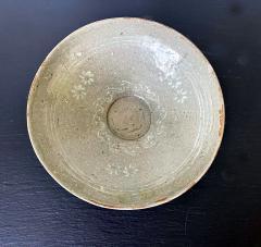 Korean Ceramic Celadon Bowl with Slip Inlay Goryeo Dynasty - 1956671