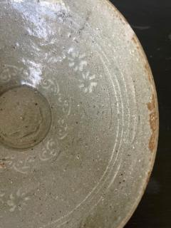 Korean Ceramic Celadon Bowl with Slip Inlay Goryeo Dynasty - 1956674
