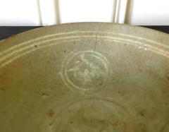 Korean Ceramic Celadon Bowl with Slip Inlay Goryeo Dynasty - 1956727