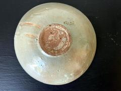 Korean Ceramic Celadon Bowl with Slip Inlay Goryeo Dynasty - 1956731