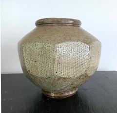 Korean Ceramic Jar Buncheong Ware Joseon Dynasty - 1132263