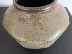 Korean Ceramic Jar Buncheong Ware Joseon Dynasty - 1132269