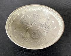 Korean Ceramic Tea Bowl with Slip Inlays Goryeo Dynasty - 2110821