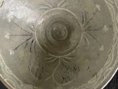 Korean Ceramic Tea Bowl with Slip Inlays Goryeo Dynasty - 2110822