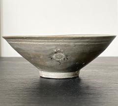Korean Ceramic Tea Bowl with Slip Inlays Goryeo Dynasty - 2110828